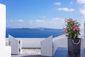 Mystic Luxury Villa at White Pearl Villas in Santorini